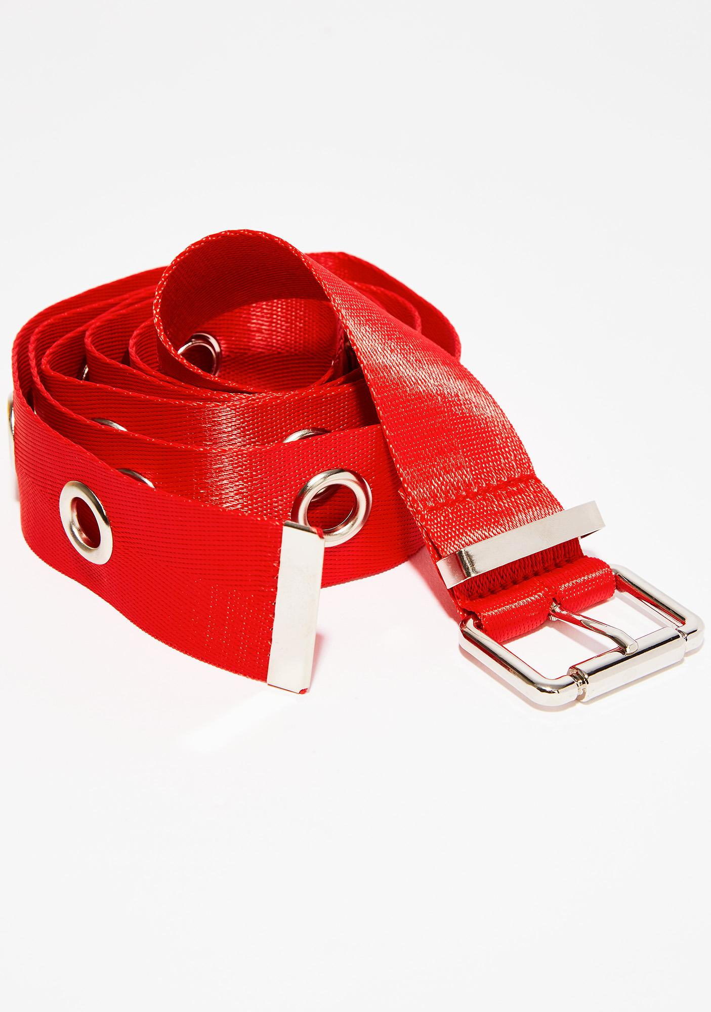 Cherry To Buckle Belt
