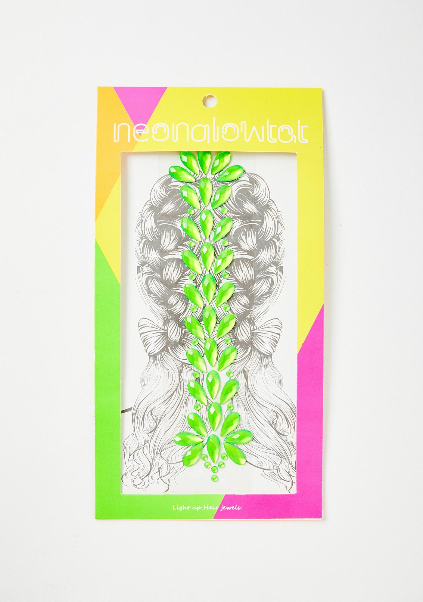 Slime Sour Shock UV Hair Gems