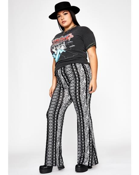 Lux Midnight Haze Paisley Pants