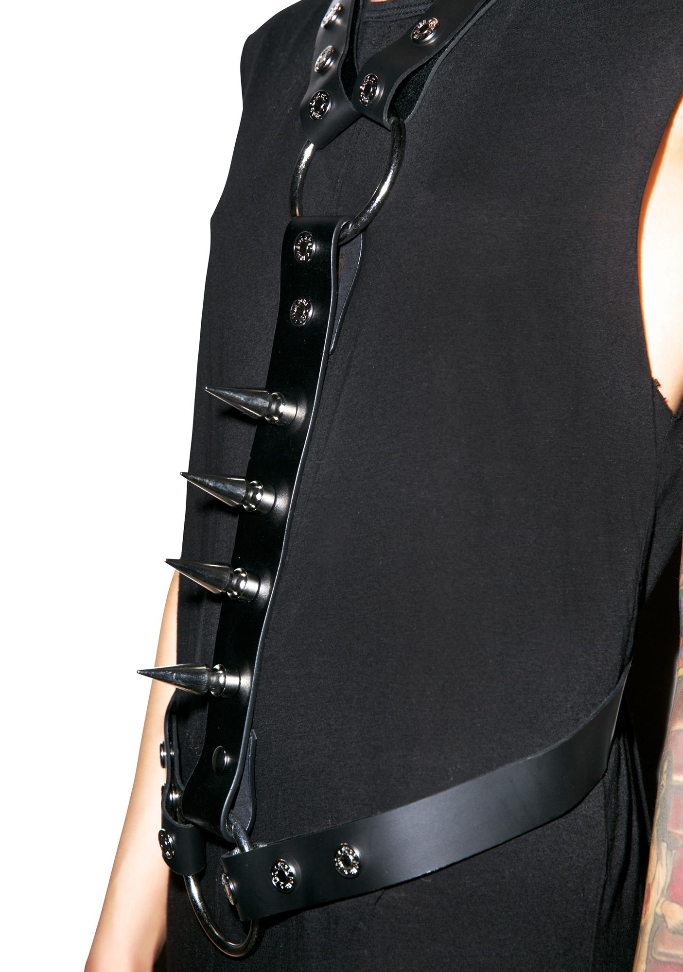 Club Exx Spiked For Pleasure Harness