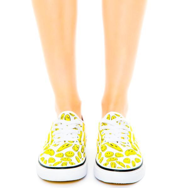 Bad Acid Smiley Sneakers
