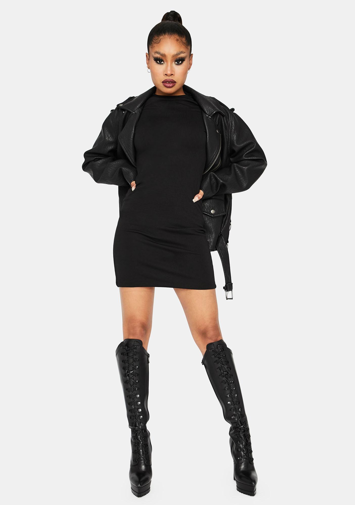 Kiki Riki Cash Needed Cut Out Mini Dress