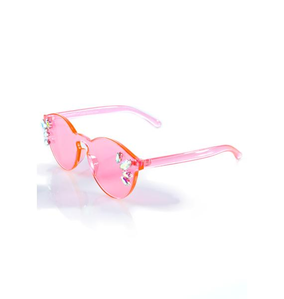 Rad and Refined Cosmic Girl Sunglasses