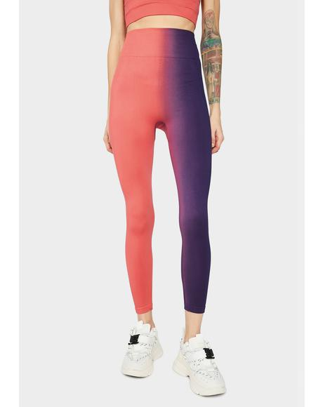 Get To Werk Two Tone Leggings