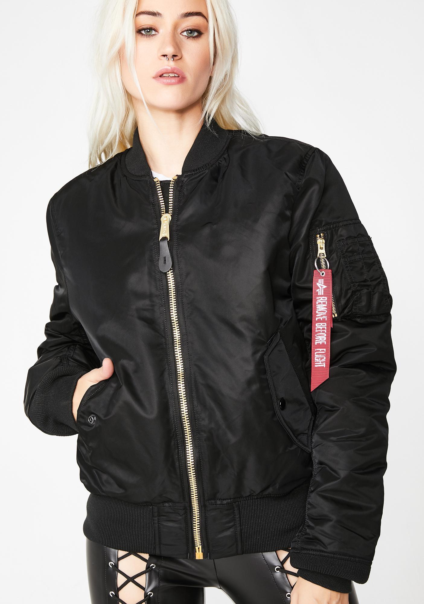 54c10379160f Alpha Industries MA-1 Slim Jacket