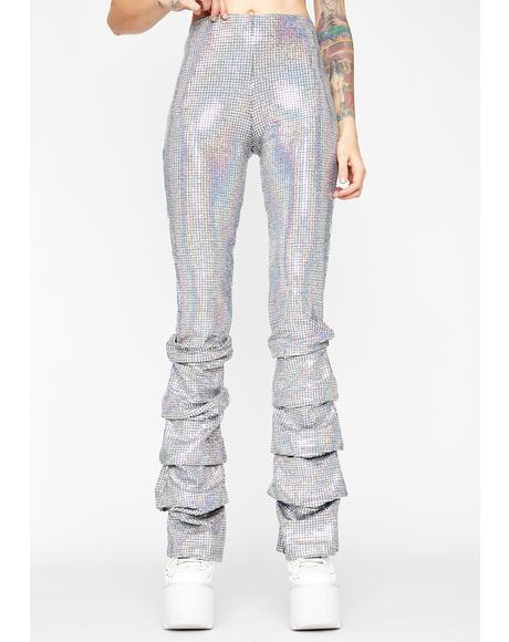 Astro Cowgirl Holographic Pants