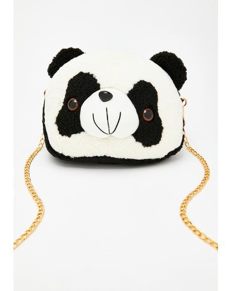 Sweet Pandamonium Chain Crossbody
