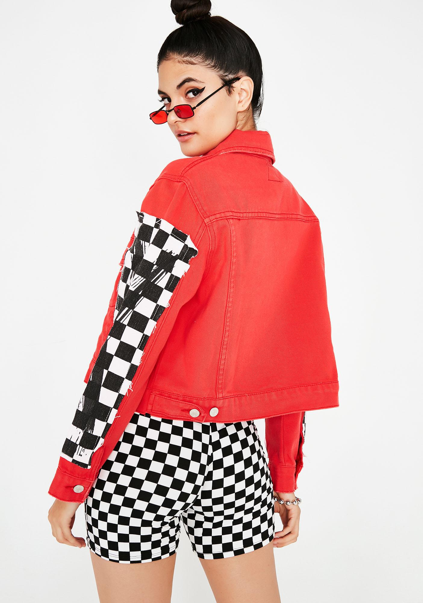 Take Control Checkered Jacket