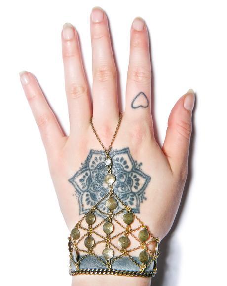 Open Weave Slave Bracelet