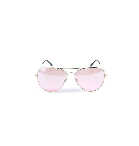 Flight Club Aviator Sunglasses
