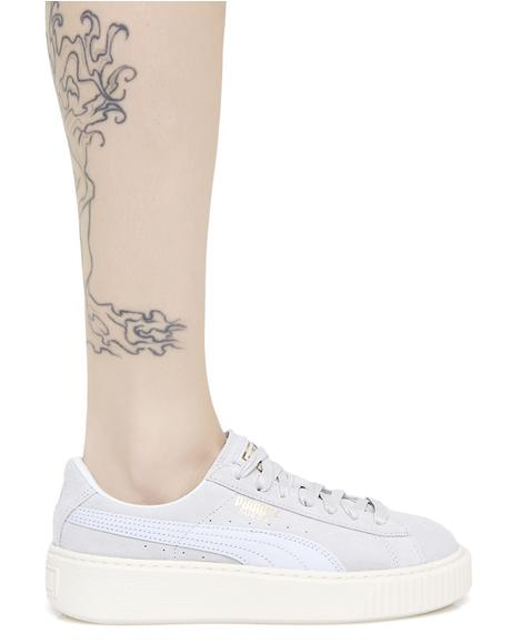 Suede Platform Core Sneakers