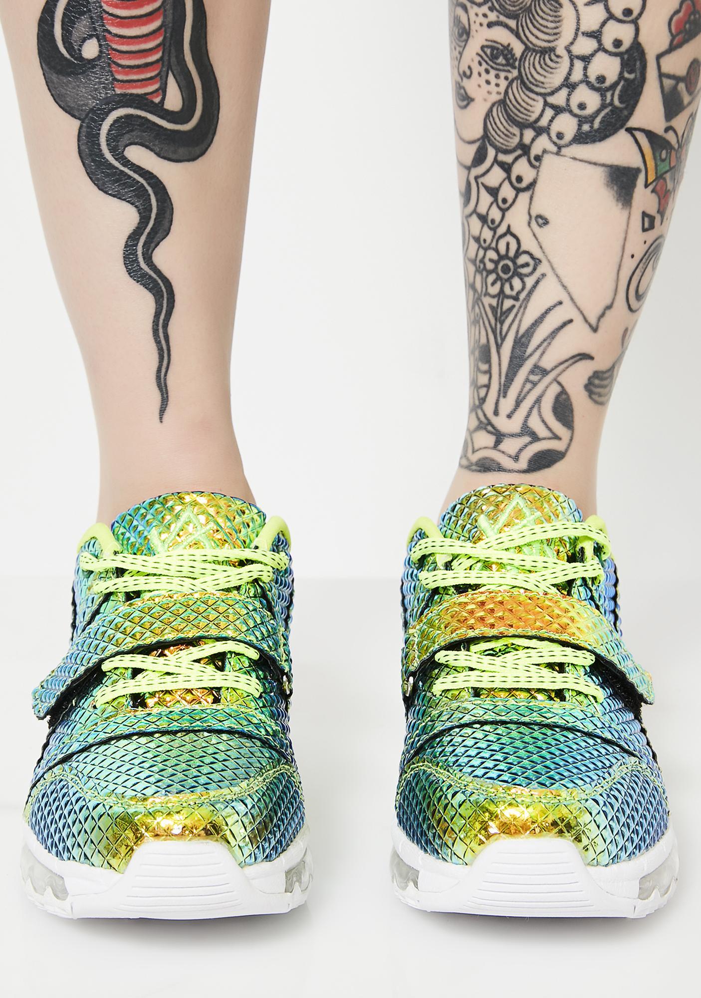 Y.R.U. Pyramid Aiire Sneakers