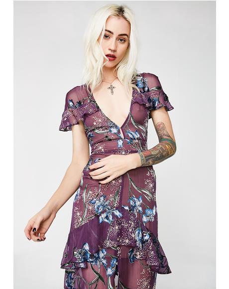 Cleo Floral Maxi Dress