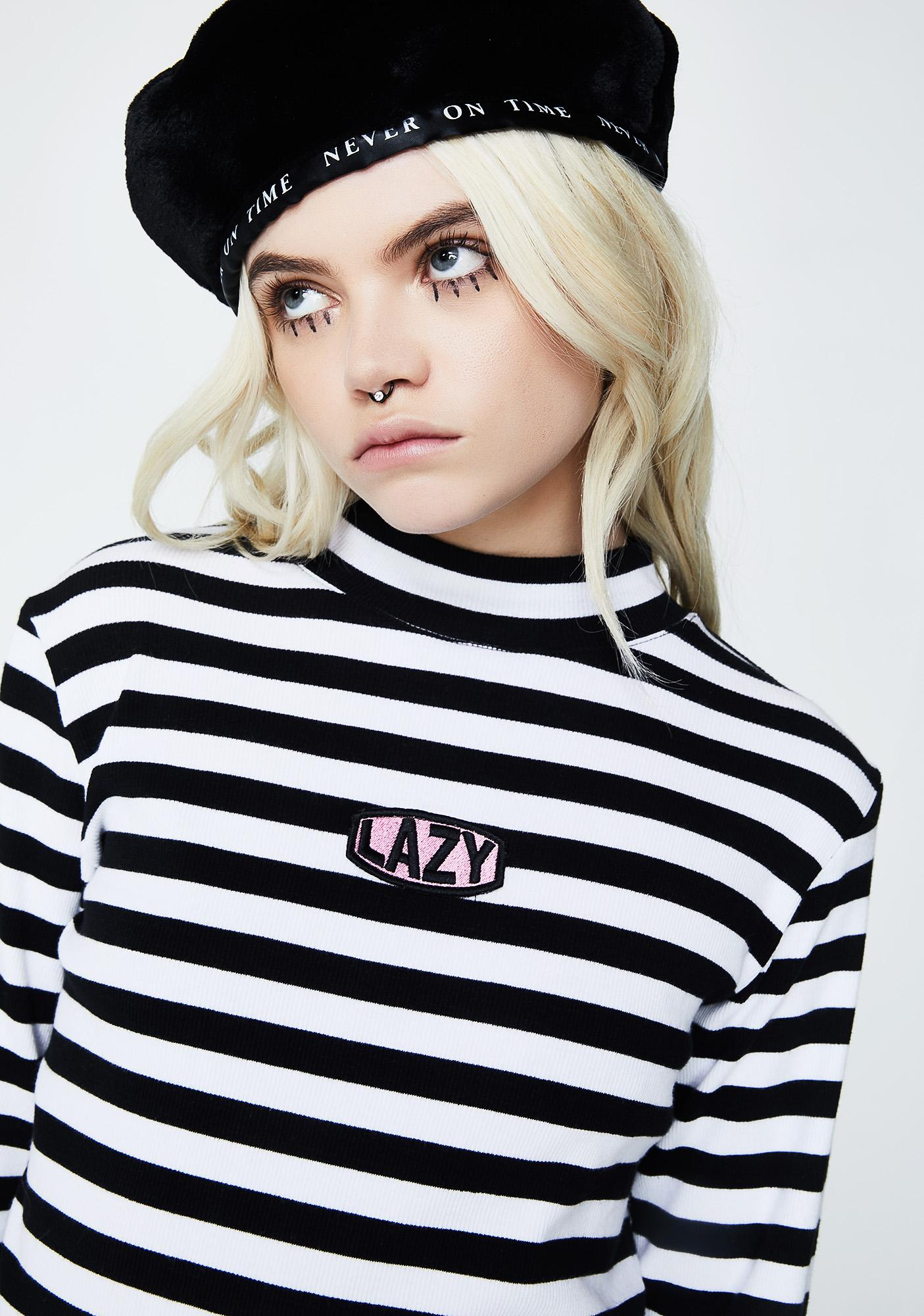 Lazy Oaf Lazy Patch Rib Tee