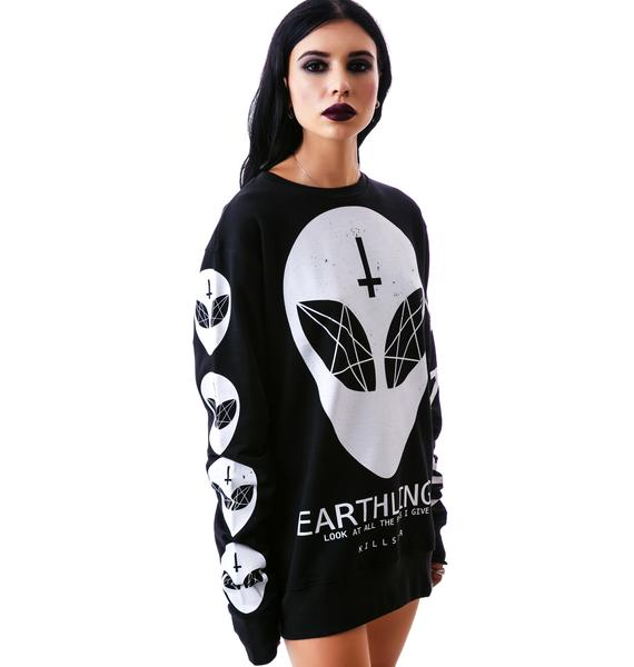 Killstar Earthlings Sweatshirt