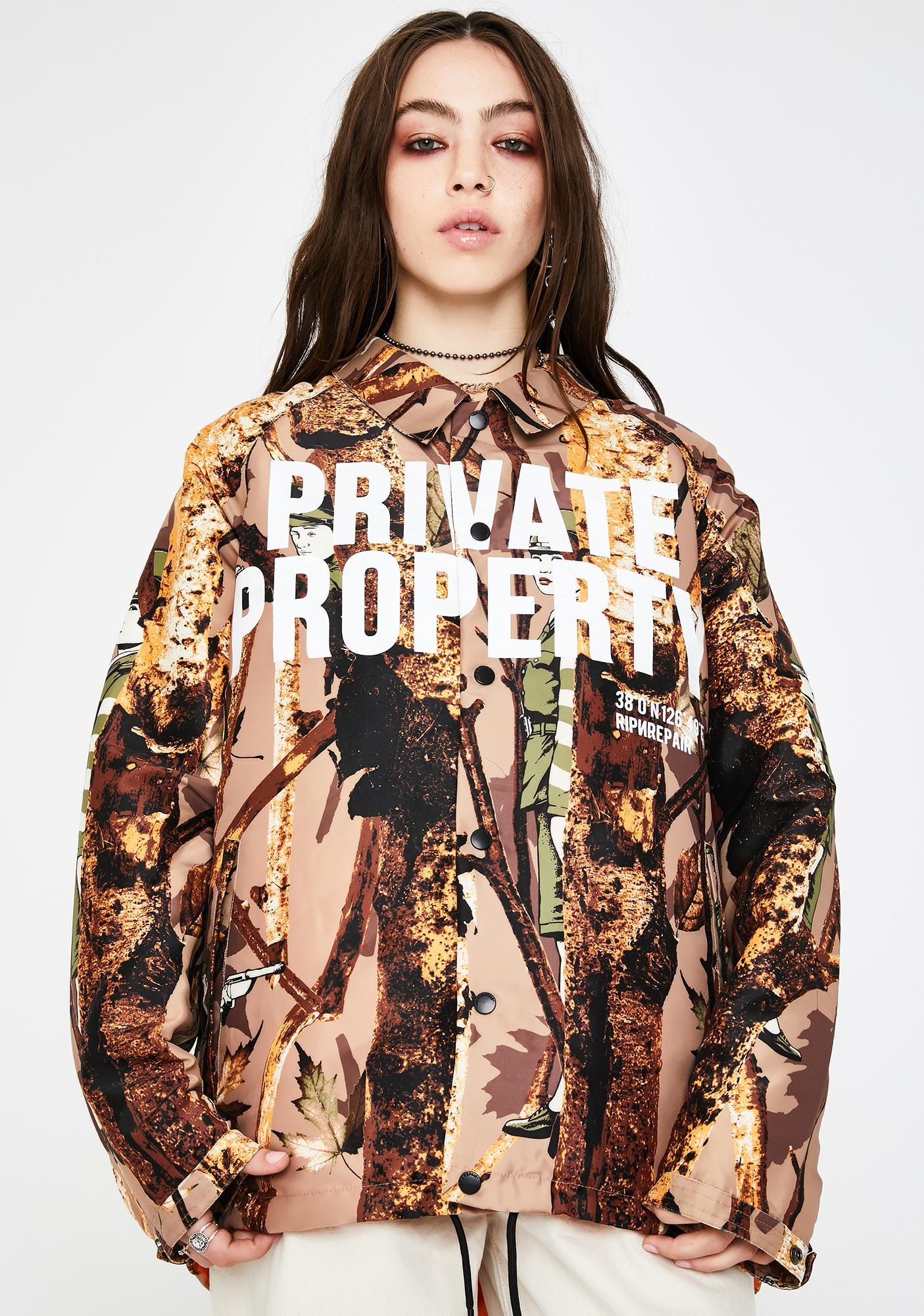 Rip N Rpr NS38 Realtree Coaches Jacket