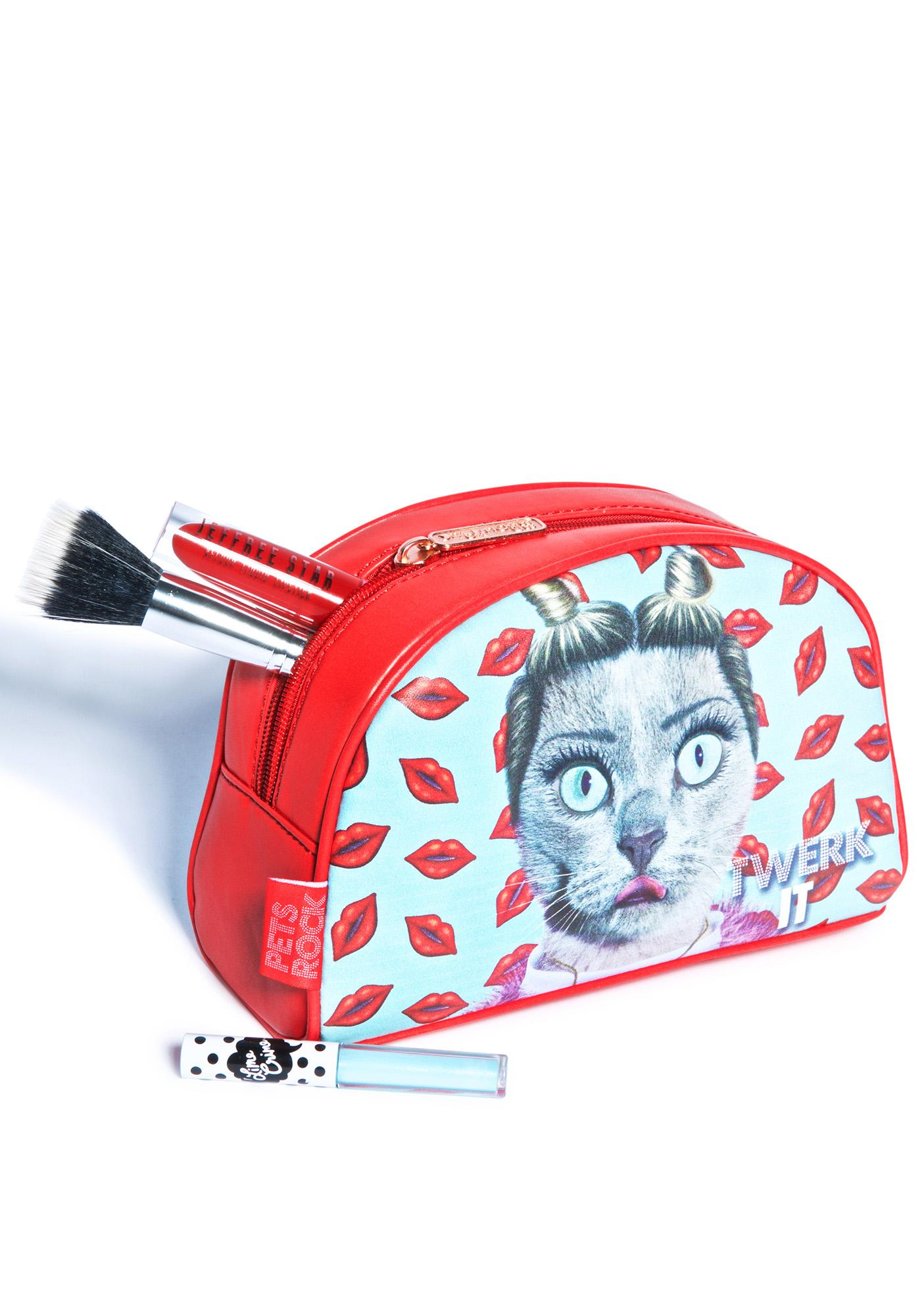 Can't Be Tamed Cosmetic Bag