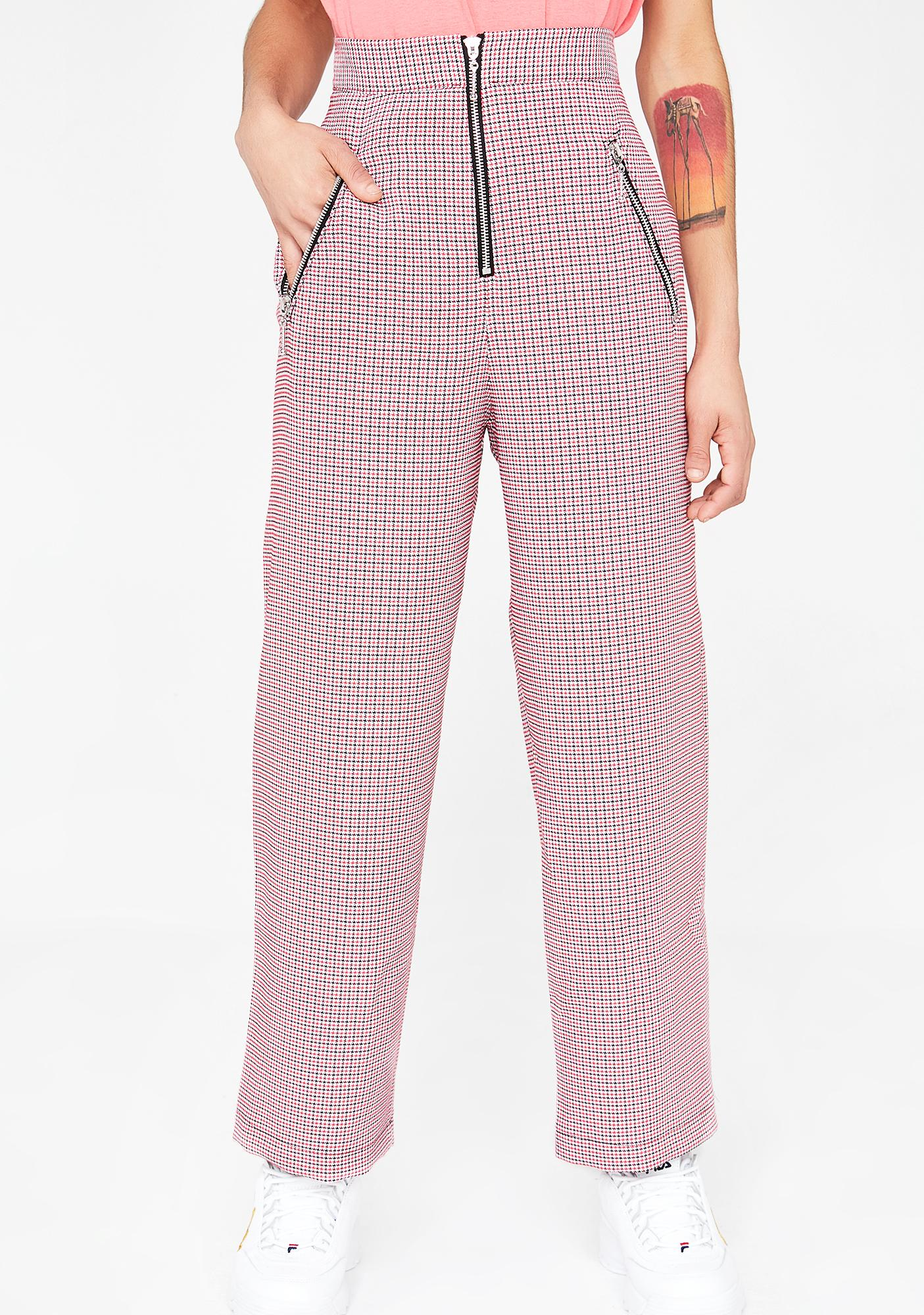 The Ragged Priest Tweed Cigarette Trousers