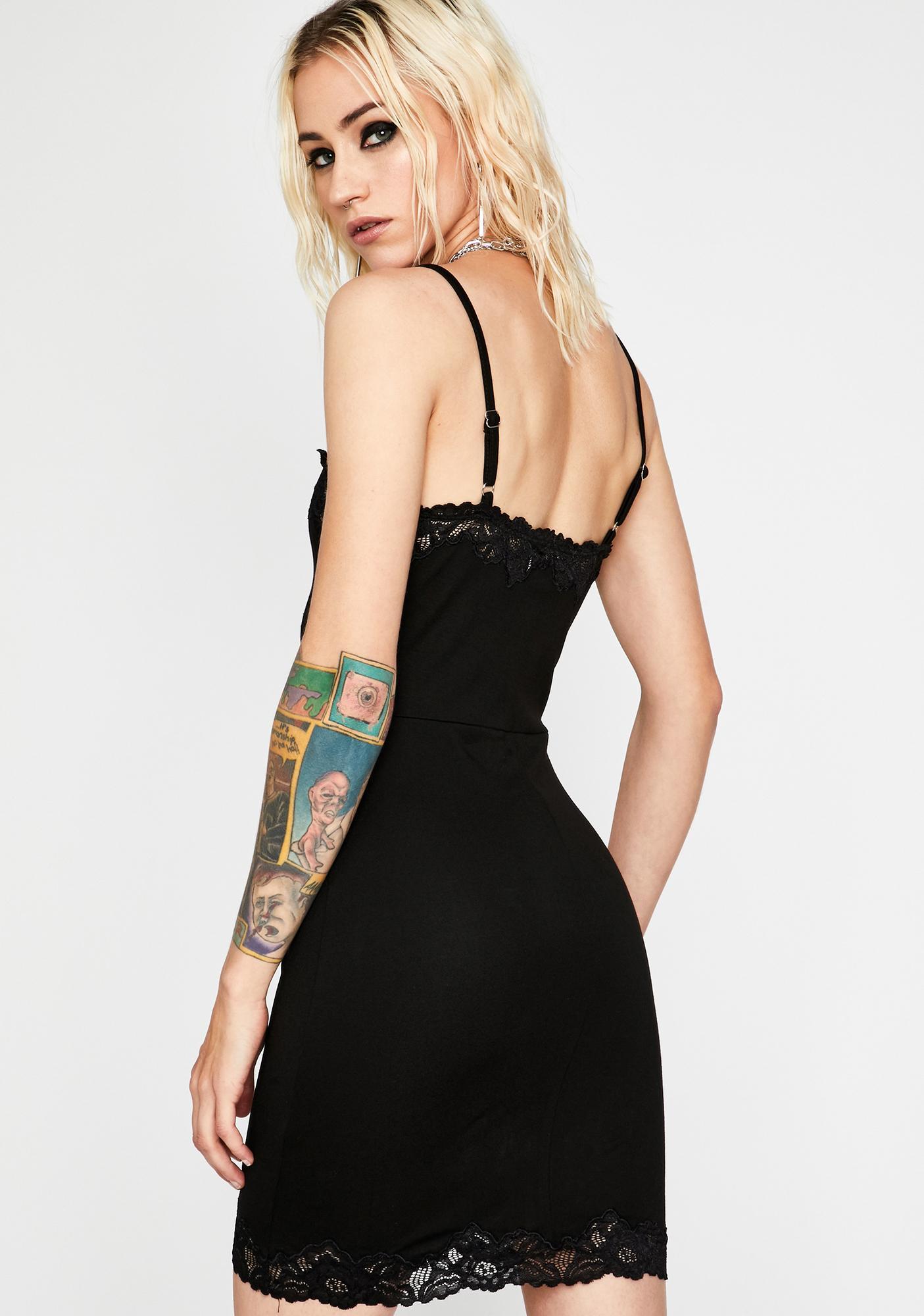 Romantic Mistake Lace Dress