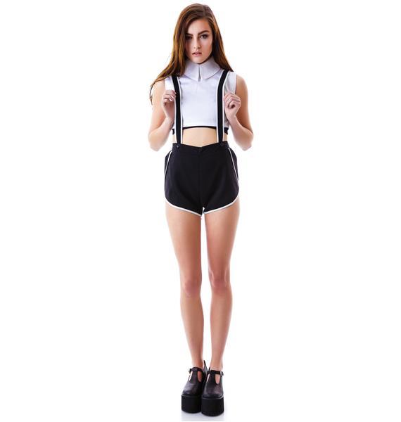 Dark Matter Overall Shorts