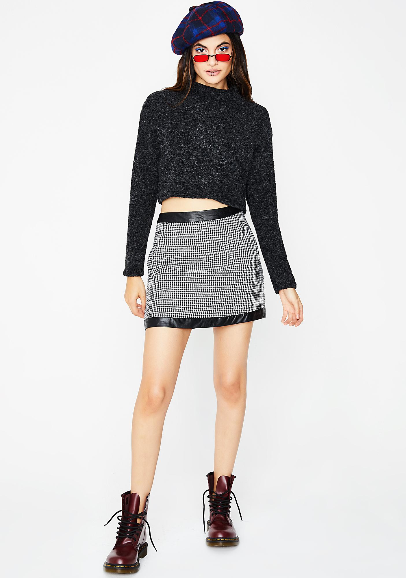 Kickin' Back Cropped Sweater