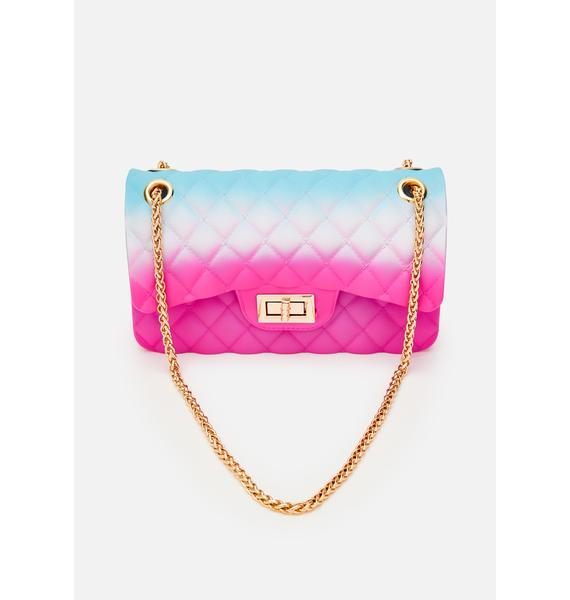 Ask For More Quilted Purse