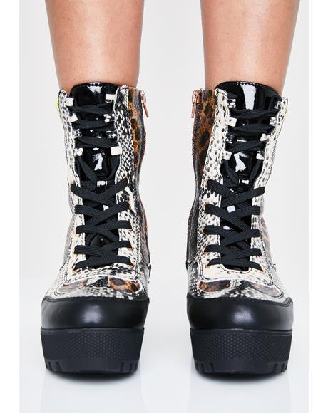 Farrago Combat Boots