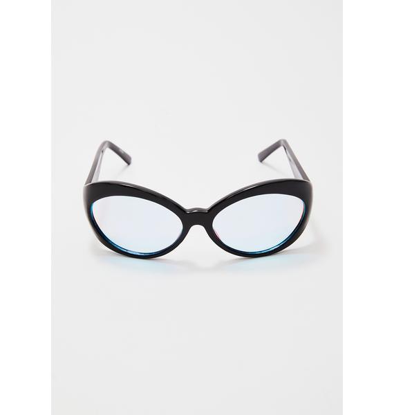 Giant Vintage Futurefox Iridescent Sunglasses