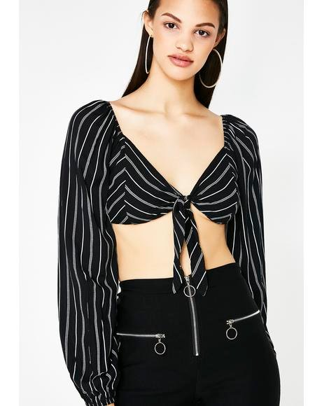 In The Air Crop Top
