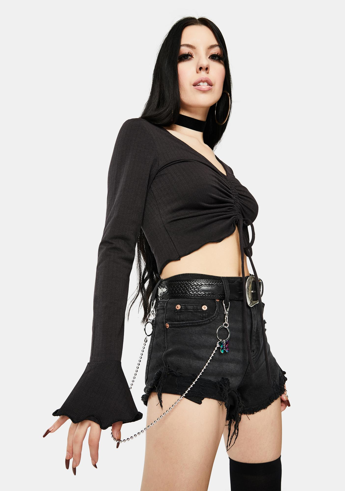 Rise Above It Butterfly Belt Chain