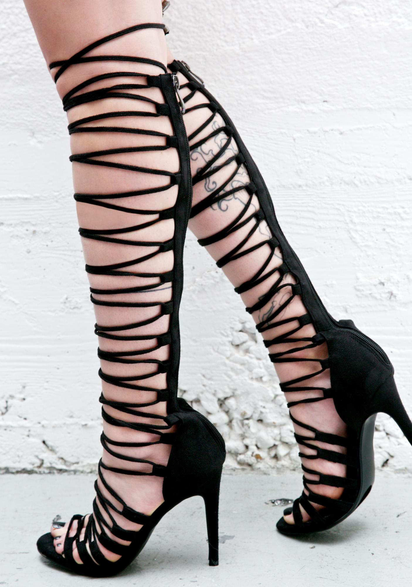 Supermodel Strappy Heels