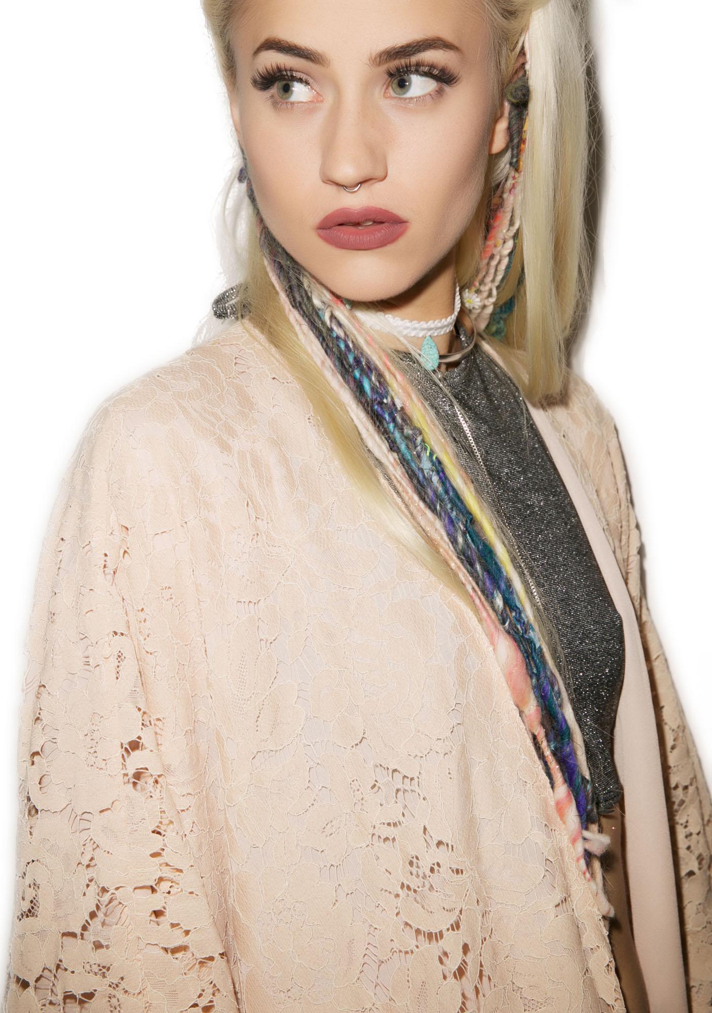 Chaser Baddie Gone Good Lace Kimono