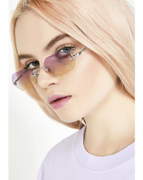 Magical 90s Comeback Octagon Sunglasses
