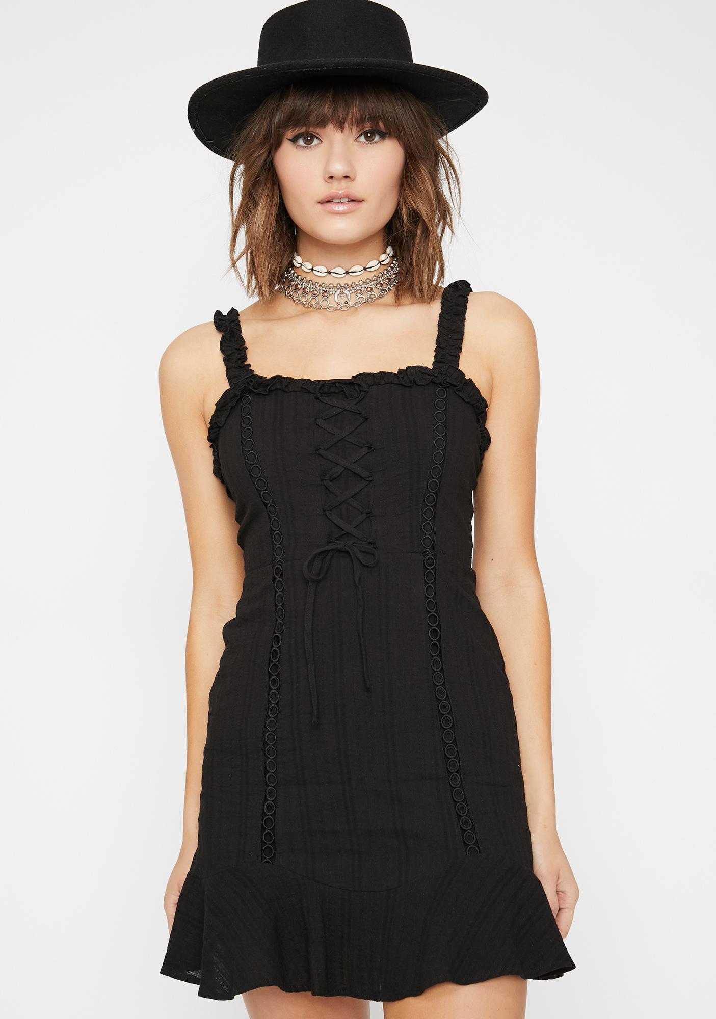 Charming Kiss Mini Dress