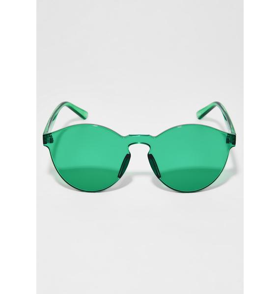 Seein' Green Sunglasses
