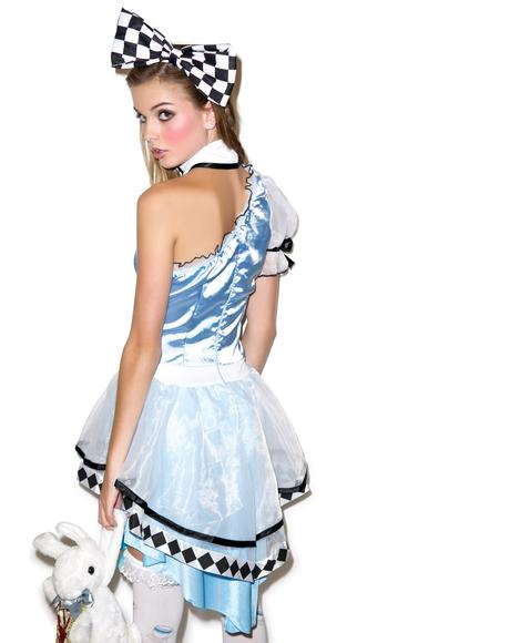 Psychedelic Alice Costume