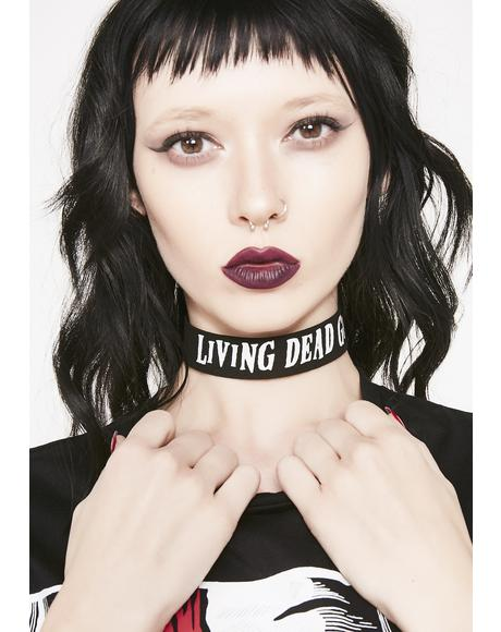 Living Dead Girl Choker