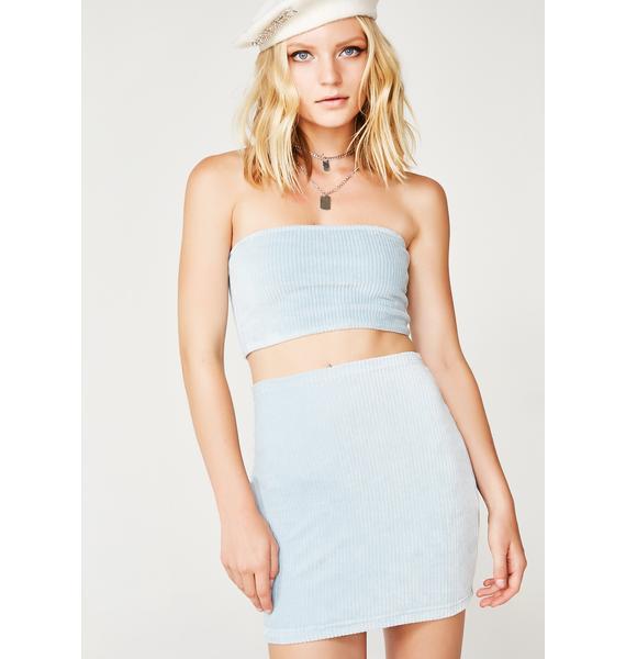 Motel Baby Blues Kimmy Skirt