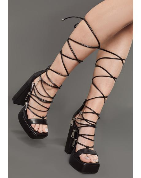 In Your Zip Code Platform Heels