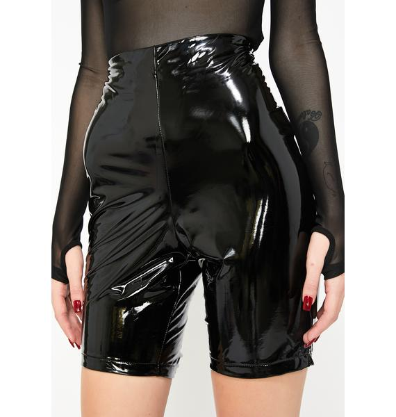 Dark Love Biker Shorts