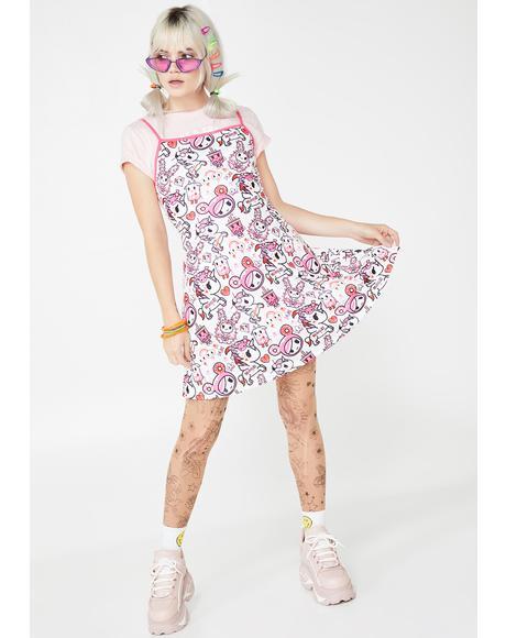Pretty In Pink Mini Dress