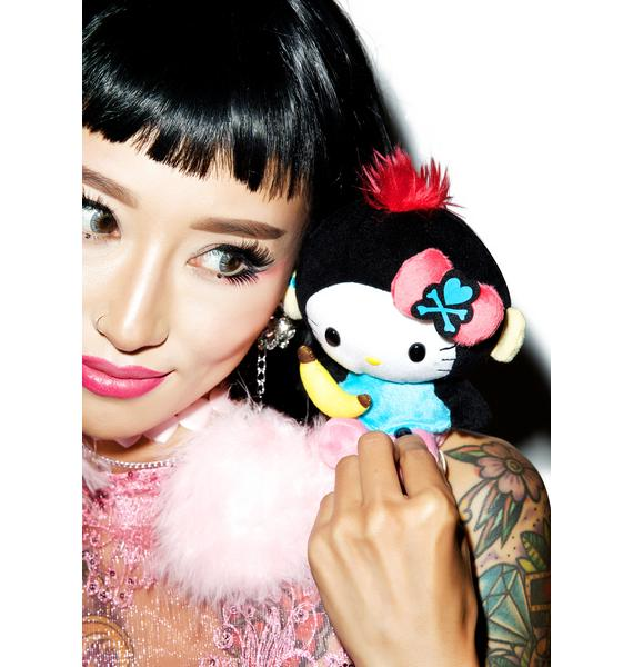 Sanrio Tokidoki X Hello Kitty Summer Safari Monkey Kitty Plush