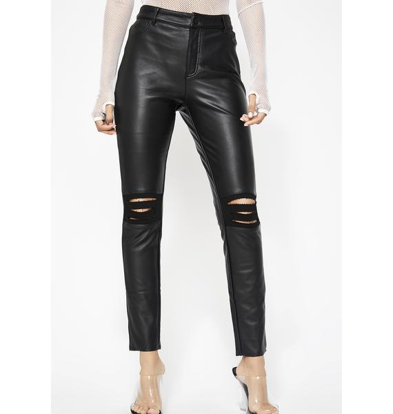 Supa Charged Vegan Leather Pants