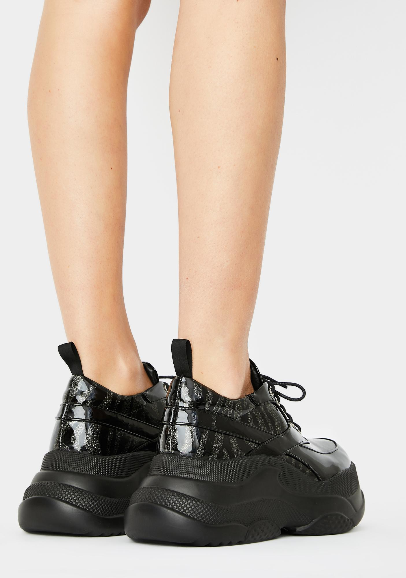 Lamoda Roll Up Platform Sneakers