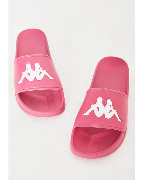 Fuchsia Authentic Adam 2 Slides