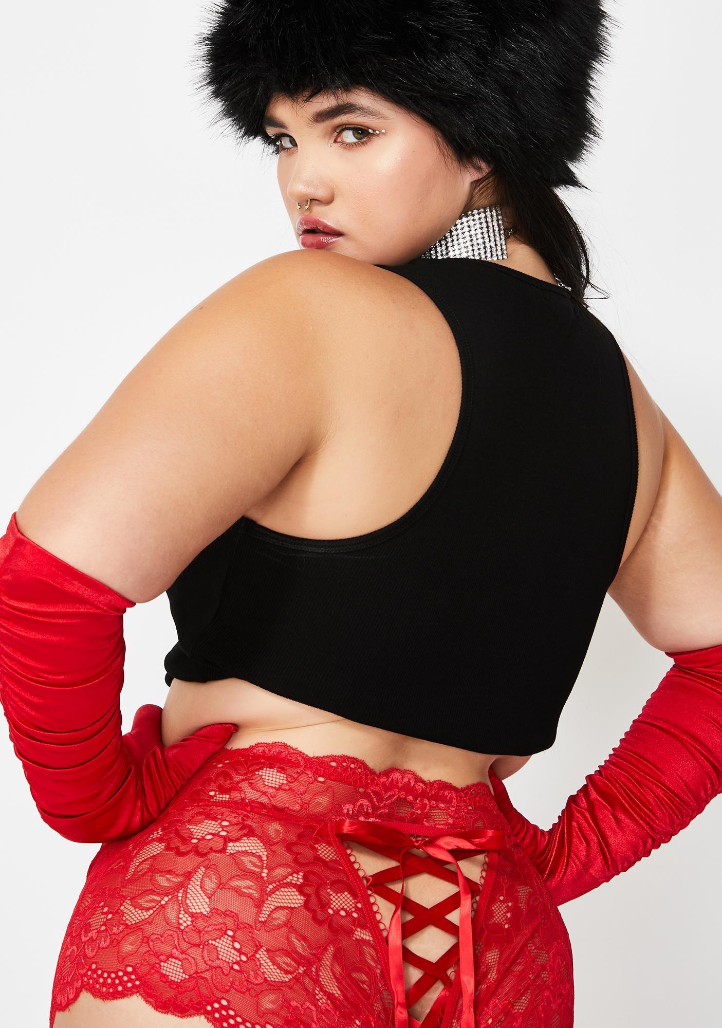 Mz Ho Ho Ho Baby Lace Up Panties