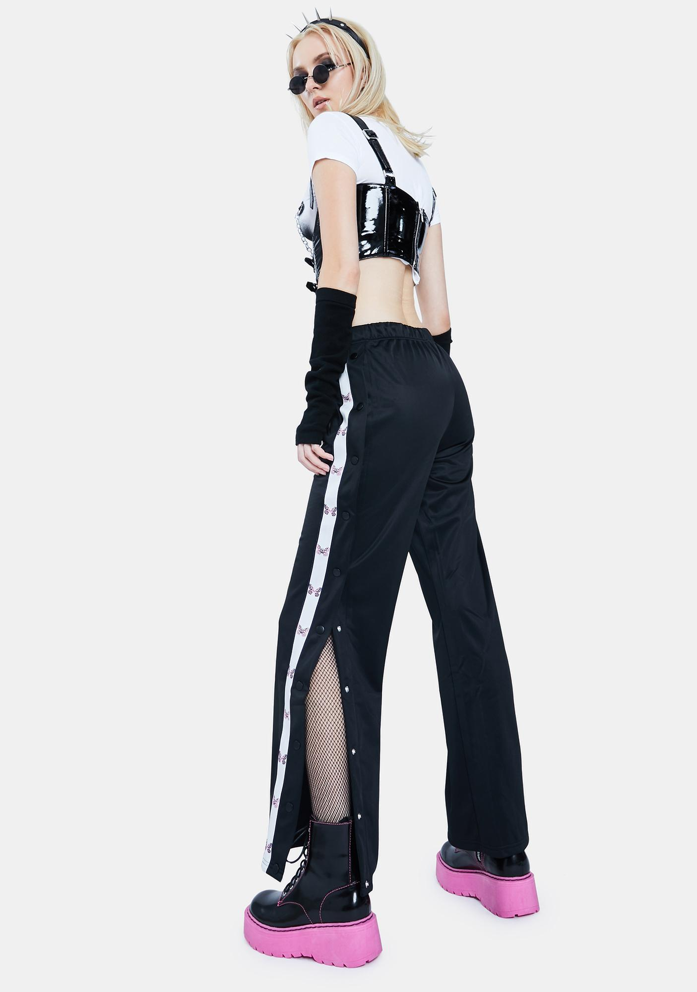 Current Mood Icons Only Butterfly Track Pants