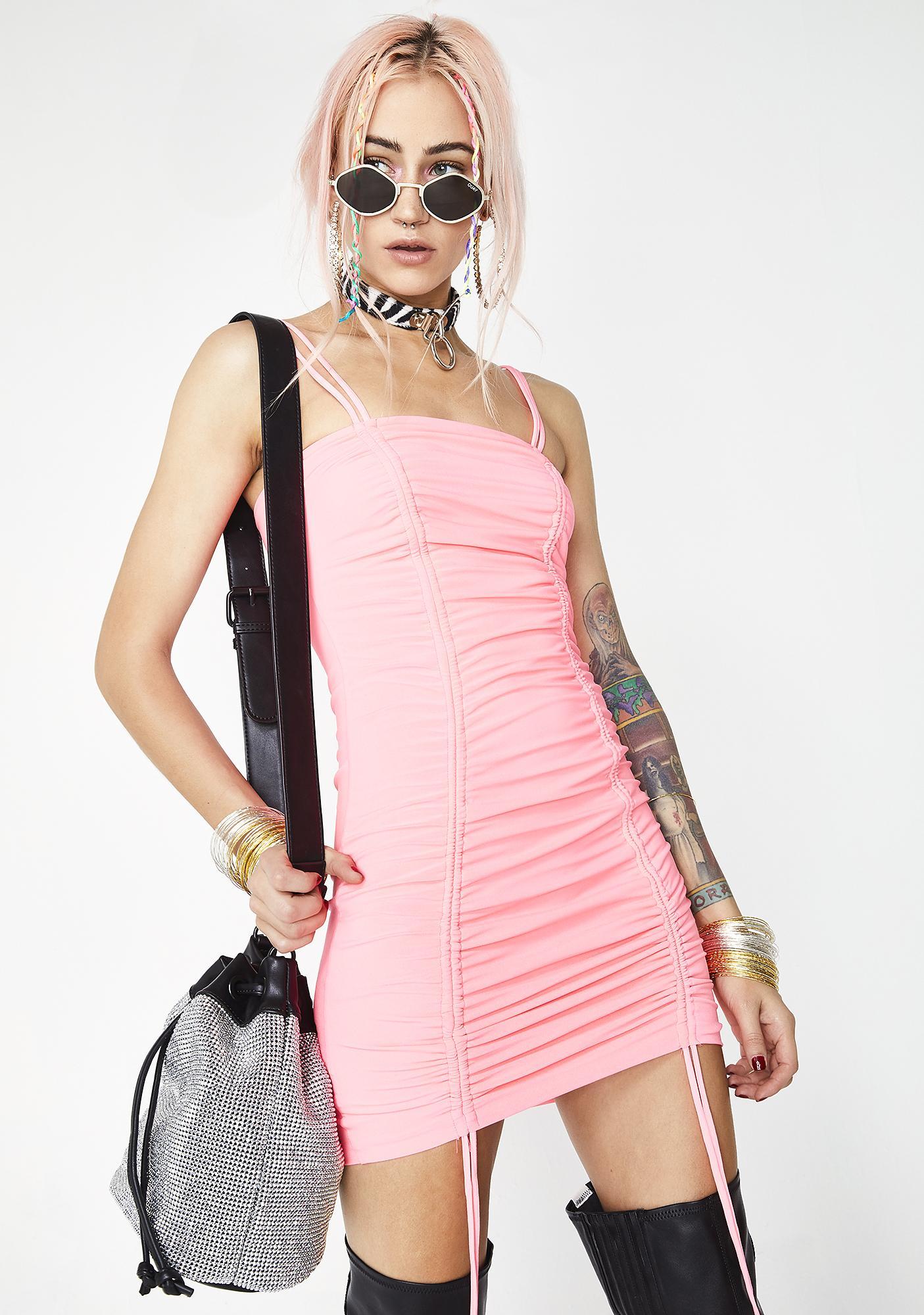 Seein' Double Mini Dress