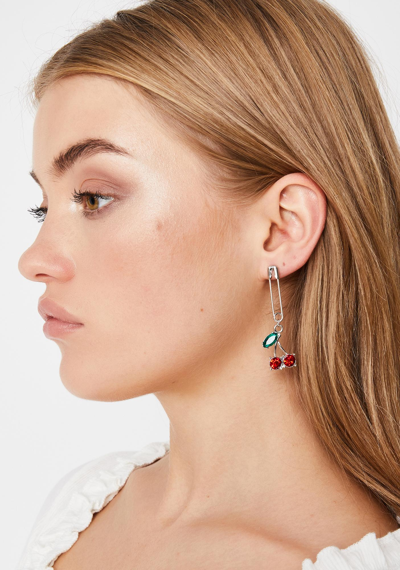 Chrome Bittersweet Baby Drop Earrings
