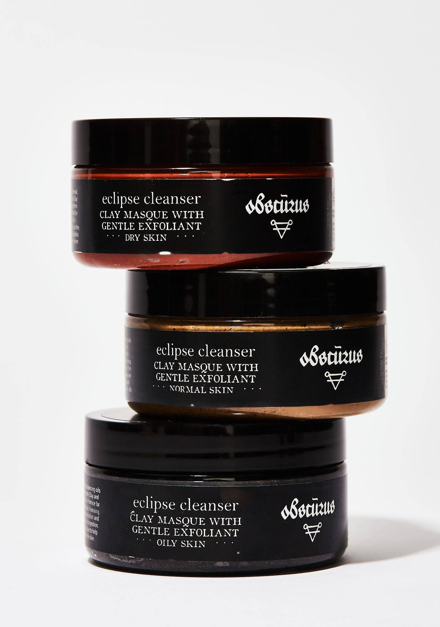 Obscurus Eclipse Cleanser & Clay Masque- Dry Skin
